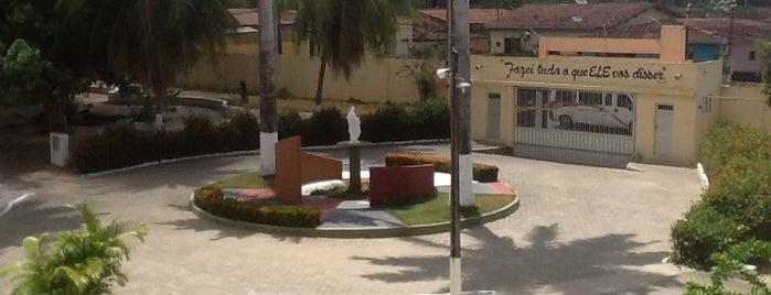 Convento das Irmãs Cordimarianas de Caucaia is one of Lugares guardados de Arquidiocese de Fortaleza.