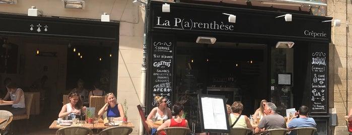La Parenthese is one of สถานที่ที่ Martina ถูกใจ.