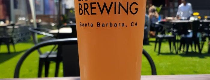 Brass Bear Brewing & Bistro is one of Santa Barbara night life - 1 evening.