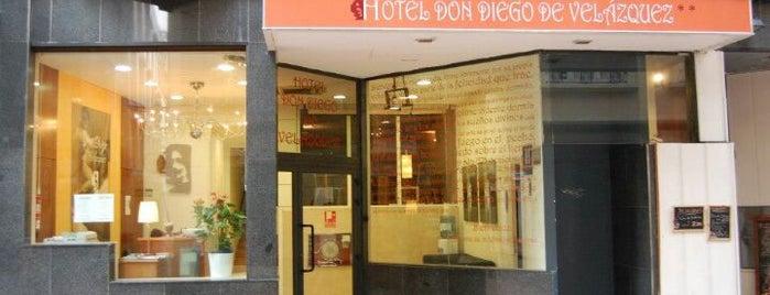 Hotel Don Diego de Velazquez ** is one of Lieux sauvegardés par Fernando.