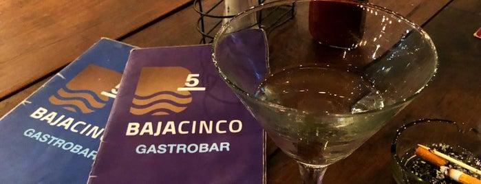 Baja 5 Gastrobar is one of สถานที่ที่บันทึกไว้ของ Kelly.