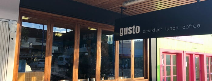 Gusto Cafe is one of Food.