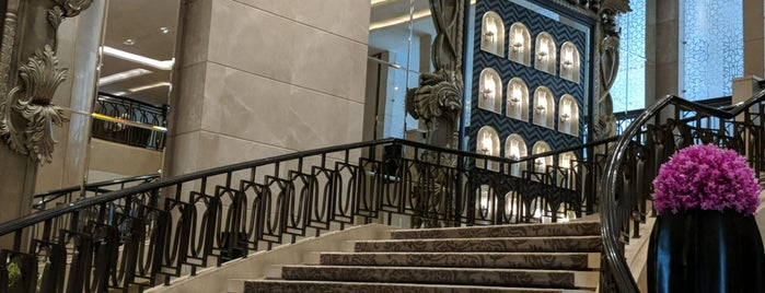 The St. Regis Mumbai is one of Modern Lux Hotels.