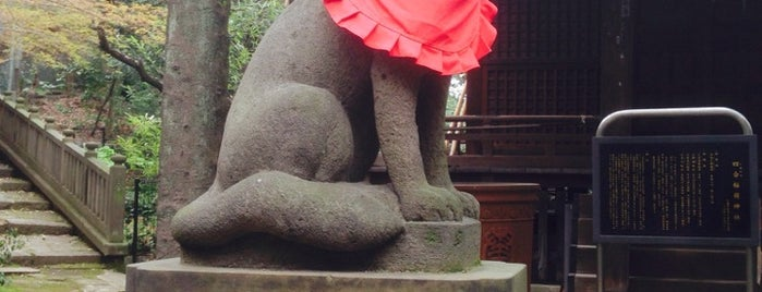 四合稲荷神社 is one of 西郷どんゆかりのスポット.