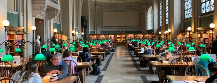 Boston Public Library Courtyard is one of Seda 님이 좋아한 장소.