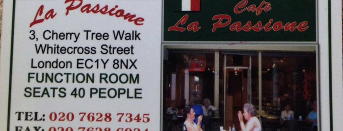 Cafe Passione is one of Lieux qui ont plu à Danis.
