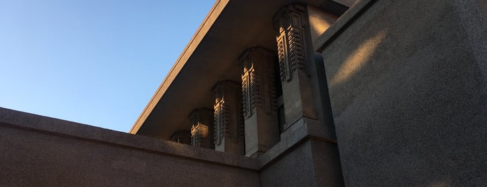 Frank Lloyd Wright's Unity Temple is one of Architecture.