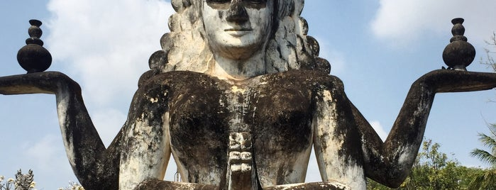 Wat Xieng Khuan / Buddha Park is one of Lugares favoritos de Hui-ern.