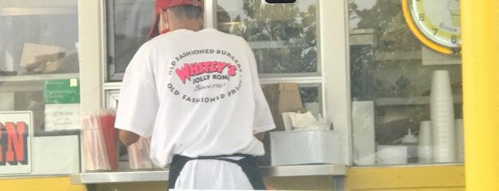 Whitey's Jolly Kone is one of Eater SF Sacramento.