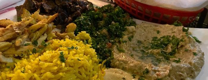 Almarah Mediterranean Cuisine is one of Lieux qui ont plu à Matt.