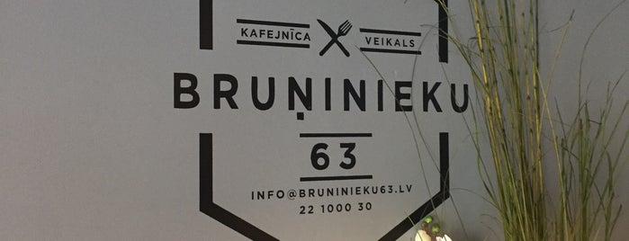 Bruņinieku 63 is one of Lugares guardados de Sofia.