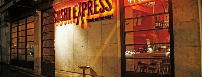 Sushi Express & Chinese Express is one of Taksim.
