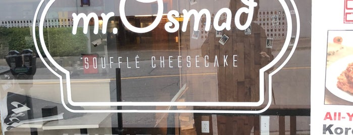 Mr. Osmad Cheesecake is one of YVR.