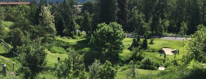 Enzian Falls Mini Golf is one of Locais curtidos por Garret.
