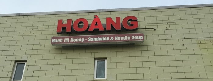 Hoàng Sandwich is one of Restaurants to Try.