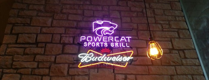 Powercat Sports Grill is one of Lieux qui ont plu à Dustin.