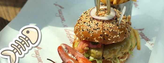 Burger & Lobster is one of Lieux qui ont plu à Gary.