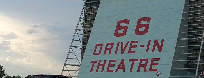 Old 66 Drive-in Theater is one of Route 66.