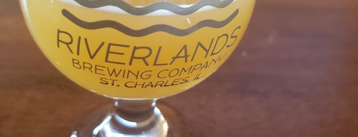 Riverlands Brewing Company is one of Chicago area breweries.