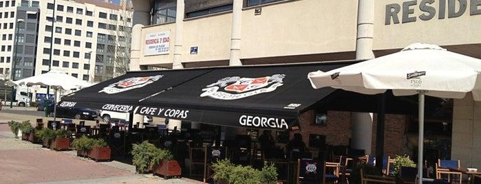 Cervecería café y copas Georgia is one of Valladolid - sitios chulos.