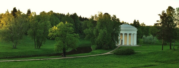 Pavlovsk Park is one of Top 5 palaces near St. Petersburg.
