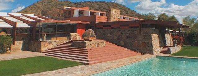 Taliesin West Library is one of Locais curtidos por Aaron.
