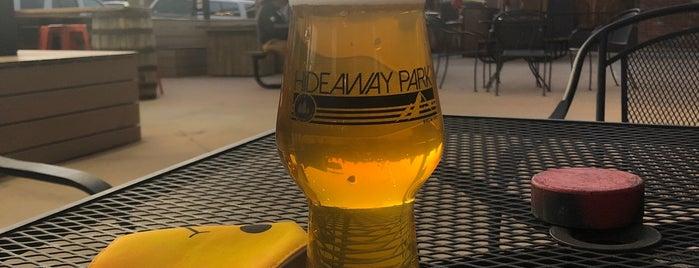 Hideaway Park Brewery is one of Lugares guardados de Kyle.