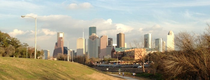 Buffalo Bayou Park is one of Houston.