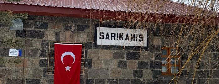 Sarıkamış Tren İstasyonu is one of Erkan'ın Beğendiği Mekanlar.