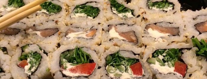 Sashimi Sushi Bar is one of Tempat yang Disukai Andrea.