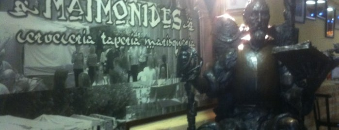 Maimonides is one of Must-visit Nightlife Spots in Madrid.