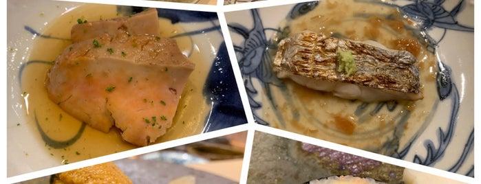 Sushi Saito is one of Tempat yang Disukai Shank.