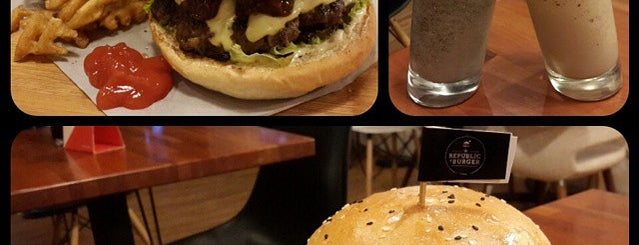 The Republic Of Burger is one of Foodism in Jakarta.