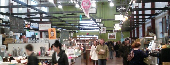 NewBo City Market is one of Lugares favoritos de Nick.