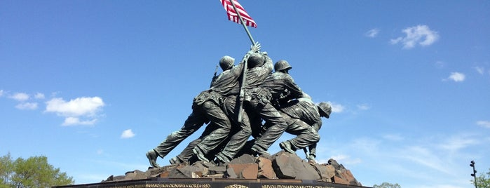 US Marine Corps War Memorial (Iwo Jima) is one of worth re-exploring.