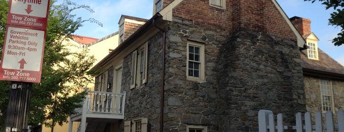 Old Stone House is one of Washington DC.