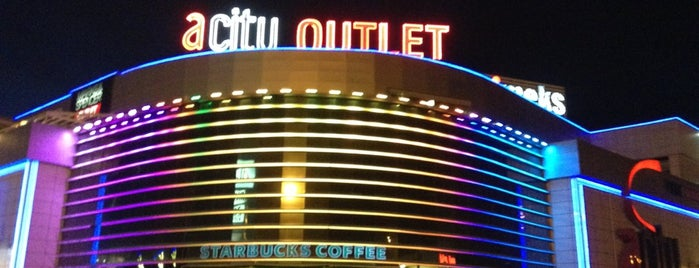 ACity Premium Outlet is one of Ankara AVM ve mağazaları.