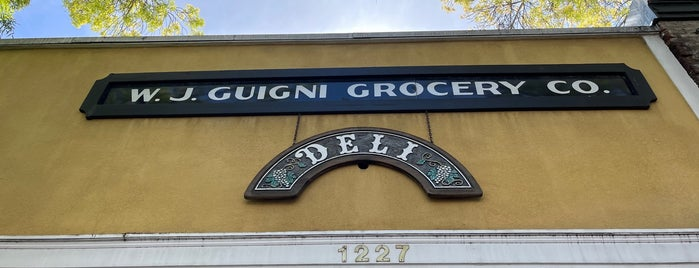 W F Giugni & Son Grocery Co is one of SF Chronicle.