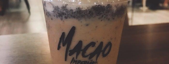 Macao Imperial Tea is one of Lugares favoritos de Eric.