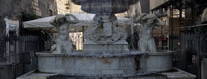 Fontana dell'Amenano is one of Sizilien.
