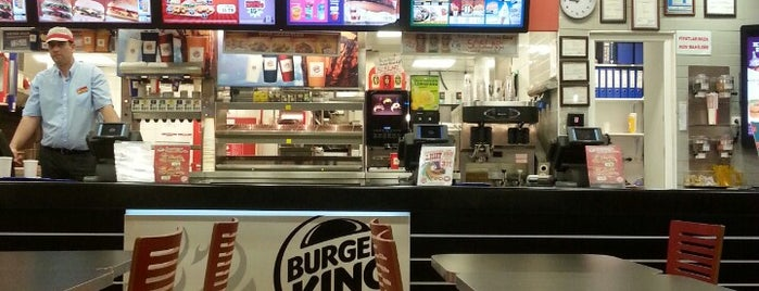 Burger King is one of Lugares favoritos de Selcan.