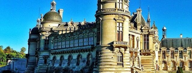 Château de Chantilly is one of Châteaux de France.