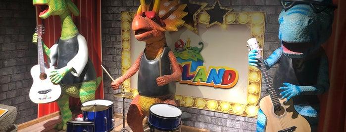 Dinoland is one of Gamzeさんのお気に入りスポット.