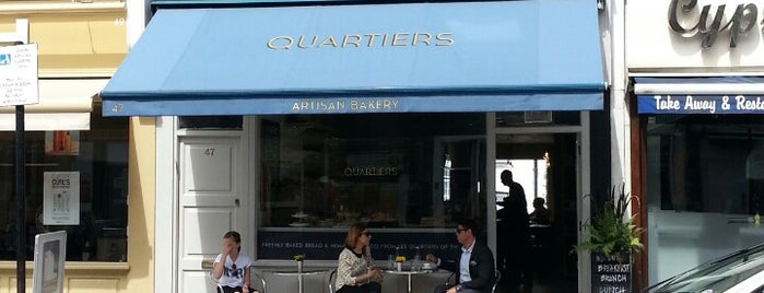 Quartiers is one of London.