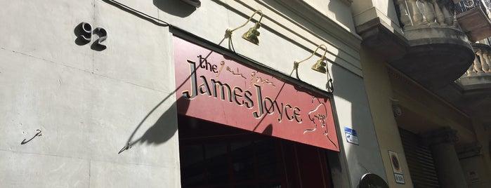 James Joyce is one of Bars.