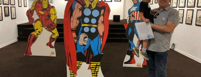 Museum Of Comic & Cartoon Art (MOCCA) is one of New York.
