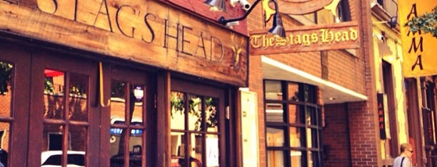 The Stag's Head is one of Places to drink alcohol.
