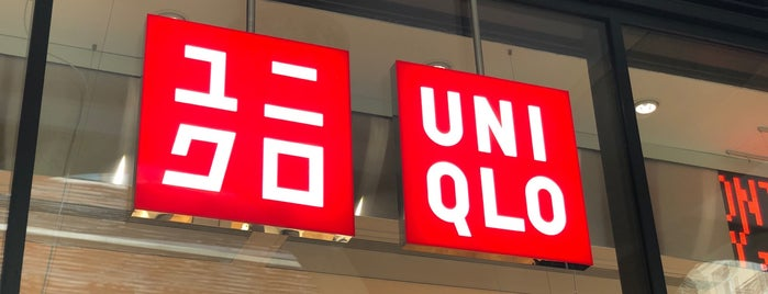 Uniqlo is one of Paris.