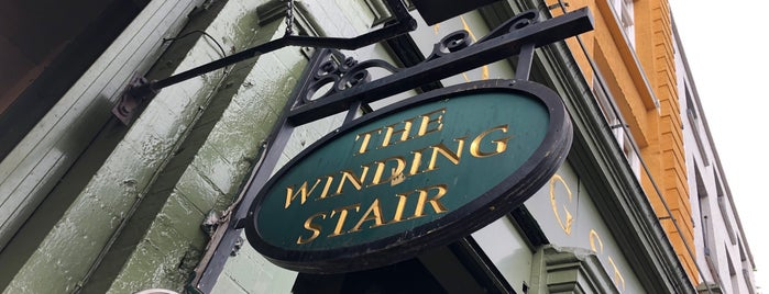 The Winding Stair Bookshop is one of In Dublin's Fair City (& Beyond).