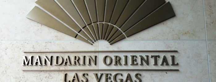 Mandarin Oriental is one of Vegas to do.